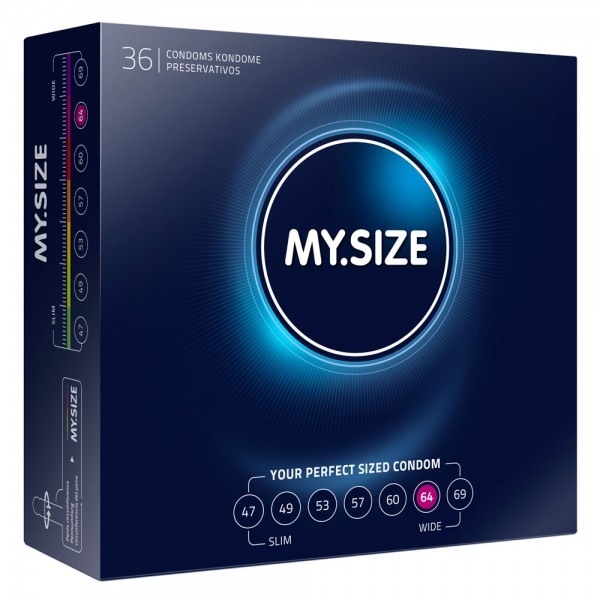 My.Size 64mm Condom 36 Pack